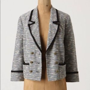 Anthropologie Today's Special Tweed Blazer